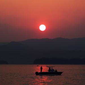 浜名湖サンセット2
