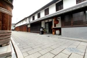 石畳と玄関2